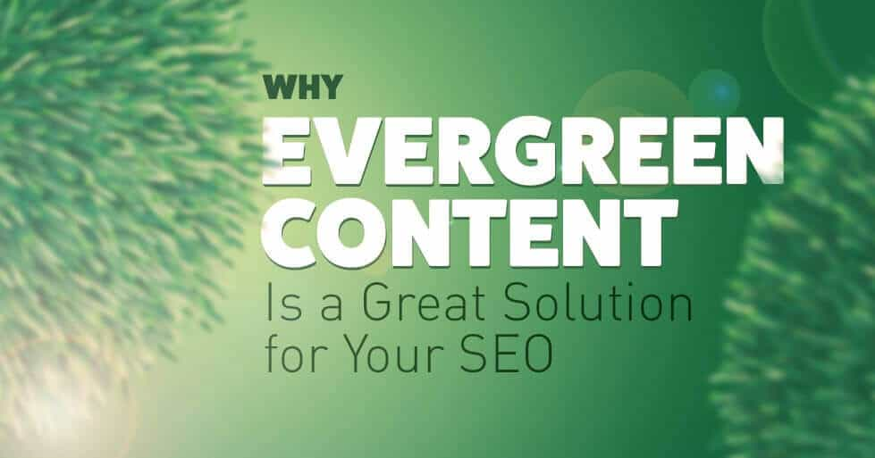 Ever Green SEO content