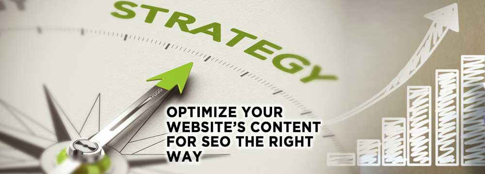 seo optimised content startegy